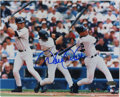 Autographs:Photos, Derek Jeter Signed Photograph. Excellent image depicts theextraordinary Derek Jeter, who, since winning the AL ROY in 1996...
