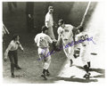 Autographs:Photos, Ted Williams Signed All-Star Game Photograph. Wonderful imagecaptures the legendary Ted Williams as he crosses home plate ...