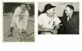 Autographs:Photos, New York Yankees Greats Signed Photographs Lot of 2. Offered hereare two photographs featuring signatures from New York Ya...