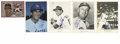 """Autographs:Photos, Baseball Stars Signed Photographs Lot of 15. Thirteen of the signed5x7"""" photos here are from Los Angeles Dodgers photo pac..."""