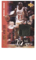 Basketball Collectibles:Others, 1998 Upper Deck MJx Michael Jordan #GC2. Special insert from UpperDeck's 1998 all-Jordan issue includes a piece of game-wo...