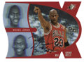 Basketball Collectibles:Others, 1997 Upper Deck SPx Pro Motion Michael Jordan #1 Signed Card. From 1997's five-card insert set to the SPx issue, we offer t...