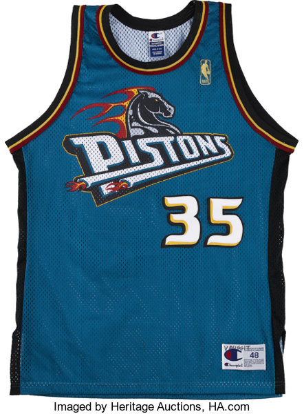 best service dc2ec 1099c Late 1990s Detroit Pistons Signed Jerseys Lot of 3. Here we ...