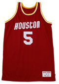 Basketball Collectibles:Others, Modern Houston Rockets Signed Jerseys Lot of 4. Each of the jerseysin this lot has been signed by a recent member of the H... (Total:4 Items)
