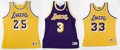 Basketball Collectibles:Others, Los Angeles Lakers Signed Jerseys Lot of 3. The legendary franchisethat is the Los Angeles Lakers has produced its share o... (Total:3 Items)
