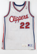 Basketball Cards:Lots, 1990-93 Los Angeles Clippers Game Worn Jerseys Lot of 2. Each ofthe jerseys in this offering has been game worn by a Los A...(Total: 2 Items)