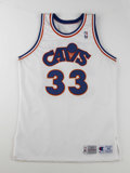 Basketball Collectibles:Uniforms, 1990s Cleveland Cavaliers Game Worn Jerseys Lot of 2. Here we offertwo unique 1990s game worn jerseys from a Cleveland Cav... (Total:2 Items)