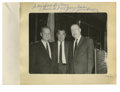 Boxing Collectibles:Autographs, Jack Dempsey Signed Photograph. This souvenir photograph is one ofthose that the legendary boxer Jack Dempsey made availab...