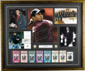Golf Collectibles:Autographs, Massive Tiger Woods Signed Display. Even to those who do not follow the game of golf, it is impossible to ignore the virtuo...