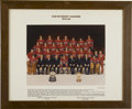 Hockey Collectibles:Photos, 1979-80 Montreal Canadiens Presentational Photograph. Renownedphotographer David Bier shot this, the official team photogr...