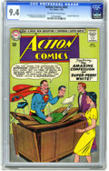 Silver Age (1956-1969):Superhero, Action Comics #302 (DC, 1963) CGC NM 9.4 Off-white to white pages. Supergirl backup story. Curt Swan cover. Jim Mooney and A...