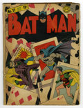 Golden Age (1938-1955):Superhero, Batman #11 (DC, 1942) Condition: GD-. Featuring a classic Joker cover (third cover appearance) by Fred Ray and Jerry Robinso...