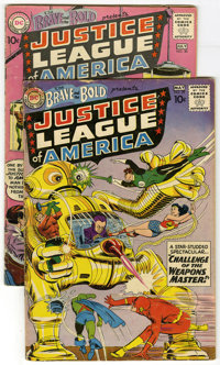 The Brave and the Bold #29 and 30 Group (DC, 1960) Condition: Average GD. Lot contains The Brave and the Bold #29 (secon...