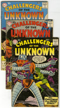 Silver Age (1956-1969):Adventure, Challengers of the Unknown Group (DC, 1960-62) Condition: Average VG. Group of eleven Challengers of the Unknown comics ... (Total: 11 Comic Books)