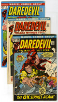 Bronze Age (1970-1979):Superhero, Daredevil Group (Marvel, 1972-75) Condition: Average FN+. This group includes # 84, 85, 86, 87, 88, 90, 91, 92 (two copies),... (Total: 24 )
