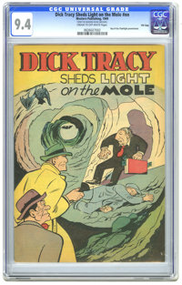 Dick Tracy Sheds Light on the Mole #nn File Copy (Western, 1949) CGC NM 9.4 Cream to off-white pages. Paper cover. Ray-O...