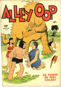 Golden Age (1938-1955):Adventure, Four Color #3 Alley Oop (Dell, 1942) Condition: VG-. One of the earliest books of series two in this legendary title. Overst...
