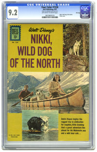 Four Color #1226 Nikki, Wild Dog of the North - File Copy (Dell, 1961) CGC NM- 9.2 Off-white to white pages. Disney movi...