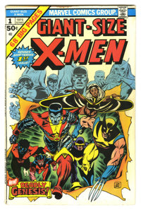 Giant-Size X-Men #1 (Marvel, 1975) Condition: VG/FN. First appearance of the new X-Men. Ranked as the second most valuab...