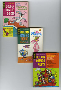 Golden Comics Digest Plus Group (Gold Key, 1969-76) Condition: NM-. This is a real bonanza considering how tough these d...