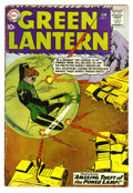 Silver Age (1956-1969):Superhero, Green Lantern #3 (DC, 1960). Gil Kane cover and art. Overstreet 2006 GD 2.0 value = $47....