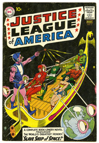 Justice League of America #3 (DC, 1961) Condition: VG+. Origin and first appearance of Kanjar Ro. Murphy Anderson cover...