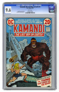Kamandi, the Last Boy on Earth #3 (DC, 1973) CGC NM+ 9.6 White pages. Jack Kirby story, cover, and art. Overstreet 2006...