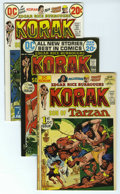 Bronze Age (1970-1979):Miscellaneous, Korak, Son of Tarzan #46-57 Group (DC, 1972-75) Condition: AverageVF. The Edgar Rice Burroughs action here includes # 46 (t...(Total: 12)