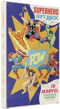 Comic Gift Packs Group of 3 (Whitman and Marvel, 1977). The Bronze Age Marvel collector will want to take a close look a...