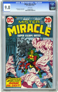 Bronze Age (1970-1979):Superhero, Mister Miracle #14 (DC) CGC NM/MT 9.8 White pages. Jack Kirby and Mike Royer cover and art. Overstreet 2006 NM- 9.2 value = ...