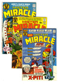 Bronze Age (1970-1979):Superhero, Mister Miracle Group (DC, 1971-73) Condition: Average VF. This group contains issues #2, 3, 4, 5, 7, 8, 9, 10, 11 (two copie... (Total: 15)