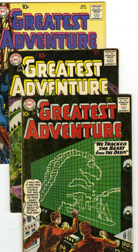 My Greatest Adventure Group (DC, 1960-63) Condition: Average VG+. Lot of eight My Greatest Adventure comics features #48...