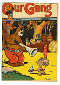 Golden Age (1938-1955):Funny Animal, Our Gang #8 (Dell, 1943) Condition: VG-. Walt Kelly art and firstCarl Barks work on title in Benny Burro story. Overstreet ...