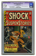 Golden Age (1938-1955):Horror, Shock SuspenStories #14 (EC, 1954) CGC Apparent FN/VF 7.0 Slight(A) Cream to off-white pages. Wally Wood cover. Jack Kamen,...