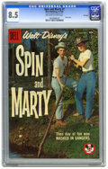 Silver Age (1956-1969):Adventure, Spin and Marty #7 File copy (Dell, 1958) CGC VF+ 8.5 Off-white to white pages. Photo cover. Overstreet 2006 VF 8.0 value = $...