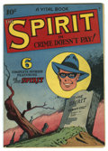 """Golden Age (1938-1955):Crime, The Spirit #nn (#2) (Quality, 1945) Condition: VG/FN. Issue is titled """"Crime Doesn't Pay"""" and features newspaper reprints. A..."""
