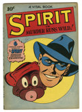 Golden Age (1938-1955):Superhero, The Spirit #nn (#3) (Quality, 1945) Condition: VG+. Nice Lou Fine cover featuring the Spirit and Ebony on this issue titled ...