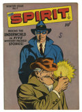 Golden Age (1938-1955):Superhero, The Spirit #7 (Quality, 1946) Condition: FN+. Great Lou Fine cover and art. Overstreet 2006 FN 6.0 value = $81; VF 8.0 value...