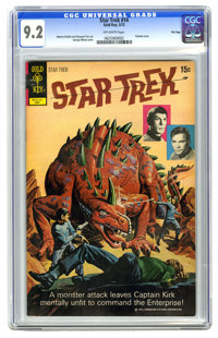 Star Trek #14 File Copy (Gold Key, 1972) CGC NM- 9.2 Off-white pages. Painted cover by George Wilson. Alberto Giolitti a...