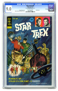 Star Trek #18 File Copy (Gold Key, 1973) CGC VF/NM 9.0 Off-white pages. George Wilson Painted cover. Alberto Giolitti an...