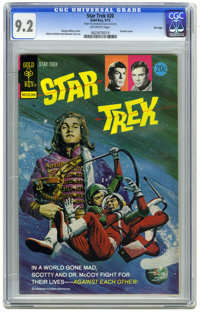 Star Trek #20 File Copy (Gold Key, 1973) CGC NM- 9.2. George Wilson painted cover. Interior art by Alberto Giolitti and...