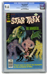 Star Trek #47 File Copy (Gold Key, 1977) CGC NM+ 9.6 Off-white to white pages. Painted cover. Al McWilliams art. Overstr...