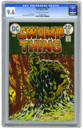 Bronze Age (1970-1979):Horror, Swamp Thing #9 (DC, 1974) CGC NM+ 9.6 Off-white to white pages.Bernie Wrightson cover and art. Overstreet 2006 NM- 9.2 valu...
