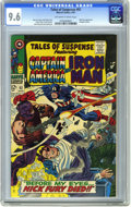 Silver Age (1956-1969):Superhero, Tales of Suspense #92 (Marvel, 1967) CGC NM+ 9.6 Off-white to white pages. First crossover appearance of Nick Fury, Agent of...