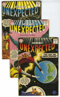 Silver Age (1956-1969):Horror, Tales of the Unexpected Group (DC, 1958-64) Condition: Average VG.Lot of 21 Tales of the Unexpected comics contains #31... (Total: 21Comic Books)