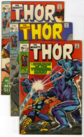 Bronze Age (1970-1979):Superhero, Thor Group (Marvel, 1969-78) Condition: Average VG/FN. Fifteen Thor books in this lot include #170-174, 176-179 (Jack Ki... (Total: 15)