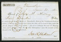 Confederate Notes:Group Lots, Interim Depository Receipt Winnsboro, (SC)- $400 June 23, 1862Tremmel SC-148. . ...