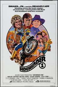 "Sidewinder 1 (Avco Embassy, 1977). One Sheet (27"" X 41"") & Lobby Card Set of 8 (11"" X 14""). Acti..."