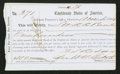 Confederate Notes:Group Lots, Interim Depository Receipt Charleston, (SC)- $100 Mar. 18, 1864Tremmel SC-37B.. ...