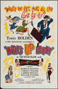 "Movie Posters:Sexploitation, What's Up Front! (Fairway International, 1964). One Sheet (27"" X41"") & Lobby Card Set of 8 (11"" X 14""). Sexploitation.. ...(Total: 9 Items)"
